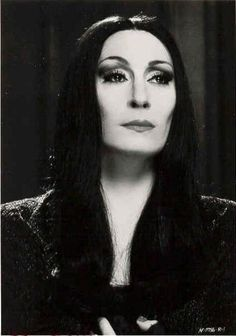 Anjelica Huston as Morticia - 'The Addams Family', 1991.