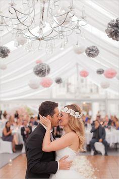 wedding kiss  http://www.weddingchicks.com/2013/12/30/elegant-international-wedding/