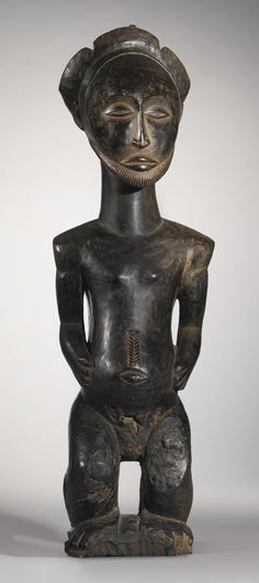Hemba Male Ancestor Statue, Democratic Republic of the Congo | lot | Sotheby's