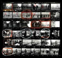 Get Lost in the Contact Sheets of Magnum Photographers Elliot Erwitt, Martin Parr, Eve Arnold and More - Feature Shoot A Level Photography, Film Photography, Amazing Photography, Street Photography, Digital Photography, Photography Backgrounds, Photography Colleges, Photography Courses, Photography Magazine