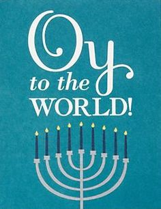 Hanukkah greeting card oy to the world hannukkah card seasonal omg the most fun hannukah card ever via paper source vivas las vegas stamps has oy to the world stamp m4hsunfo