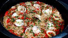 Cocinar para los amigos: Arroz con chipirones