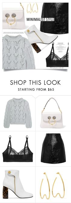 """""""Senza titolo #2078"""" by aanyaa ❤ liked on Polyvore featuring Ganni, J.W. Anderson, SPANX, Carven, STELLA McCARTNEY, Simone Rocha and prettyunderpinnings"""