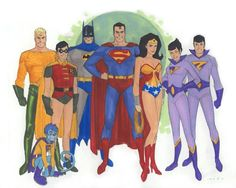 Superfriends by Phil Noto