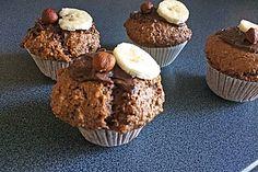 Nutella-Bananen-Muffins