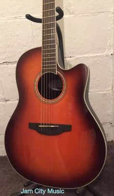 Ovation Celebrity Standard CS24 1 Mid Depth Acoustic Electric Guitar Sunburst | eBay