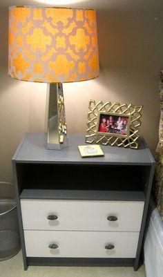 IKEA RAST Hack.  Remove drawer and add EKBY LAIVA shelf