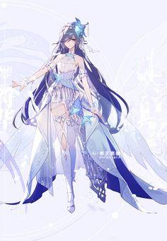 Fantasy Character Design, Character Design Inspiration, Character Art, Cool Anime Girl, Anime Art Girl, Chica Anime Manga, Kawaii Anime, Fantasy Characters, Anime Characters