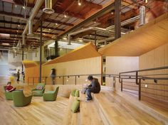 Office Design Gallery - The best offices on the planet Workspace Design, Office Interior Design, Office Interiors, Google Office, Beach Office, Venice California, Corporate Office Design, Co Working, Retail Design