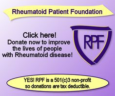 The Foundation that is very close to my heart and doing AMAZING work in the lives of people who have Rheumatoid Arthritis!!! Check it out!!!