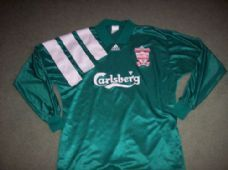 1992 1993 Liverpool Player Issue Centenary L/s Adults XL Football Shirt Top