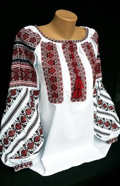 Ukrainian blouse vyshyvanka/Vyshyvanka/Peasant blouse/Vita-Boho-Style/embroidered shirt/boho blouse/Ukrainian clothing/women's clothing - Стиль сильних жінок - Boho Fashion, Fashion Outfits, Womens Fashion, Ethno Style, Afghan Dresses, Mode Hijab, Peasant Blouse, Embroidered Blouse, Classy Outfits