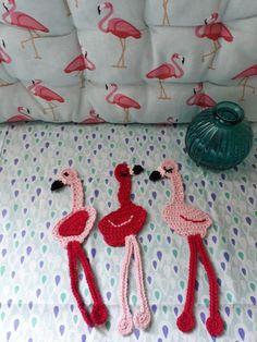 Les triplés Flamingo d après le tuto de @La souris aux petits doigts