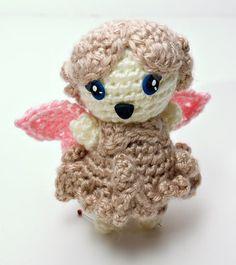 "Fairy Sprite Doll - Free Amigurumi Crochet Pattern - PDF Format - Click to ""download"" here: http://www.ravelry.com/patterns/library/amigurumi-sprite-dolls"