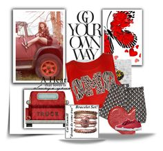 """""""A GAL AND HER TRUCK..."""" by audrey-prater ❤ liked on Polyvore"""