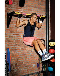 Men's Gym Style, The Best Workout Clothes - GQ April 2012: Wear It Now: GQ