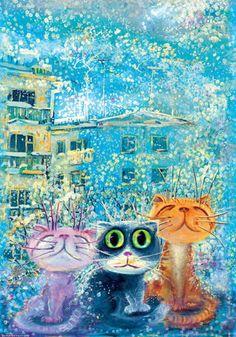 Кошки. Los gatos. - Nataliya Soler - Álbumes web de Picasa