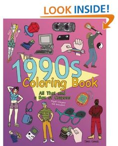 the 1990s coloring book all that and a box of crayons psych crayons - Thrill Murray Coloring Book