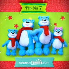 Ideas para sorprender esta Navidad con Familia®. #Christmas #Navidad #Ideas #Osos Navidad Ideas, Decoration, Smurfs, Holiday, Christmas, Friendship, Projects To Try, Lily, Cool Stuff