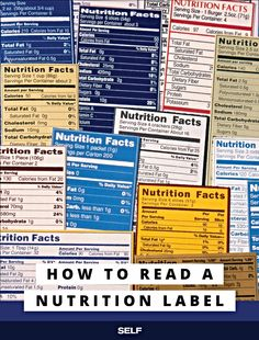 Having trouble making heads or tails of nutrition labels? You're not alone. When it comes to all that nutritional-jargon, there's a lot to comprehend, and you need to know what's up.