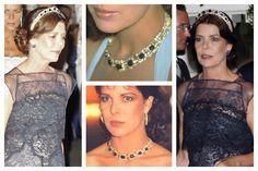 All photos: Princess Caroline of Monaco, Princess of Hanover (as tiara and necklace)