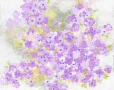 soft lavender flower abstract modern canvas - lavender and purple- impressionistic Lavender Flowers, Dried Flowers, Hand Painted Canvas, Canvas Wall Art, Frames On Wall, Nursery Art, Wall Prints, Abstract, Floral