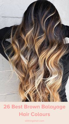 Love the idea of working balayage on brown hair? Step forward to our carefully-curated hair gallery, which proves that this trend works on just about everyone. #brownhair #brownbalayage #brownhighlights #brownombre