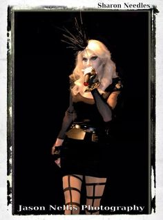 Sharon Needles performing in Indianapolis, IN.   Photo © Jason Nellis Photography.