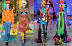 Meadham Kirchoff, Vibrant Clash of Colours <3