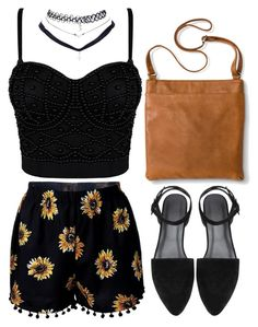 """""""Untitled #451"""" by flawless-willie ❤ liked on Polyvore featuring Merona and Wet Seal"""