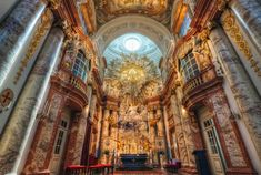 Igreja de São Carlos, Viena, Áustria