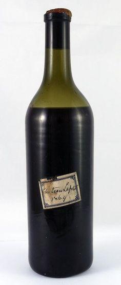 1869 Chateau Lafite Vintage Red Wine 1869 Vintage Red Wine Paulliac in Home, Furniture & DIY, Food & Drink, Beer, Wine & Spirits | eBay