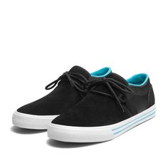 SUPRA CUBAN Shoe | BLACK - GUM | Official SUPRA Footwear Site