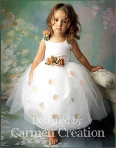 Carmen Creation creating the most original flower girl dresses for over 20 years.