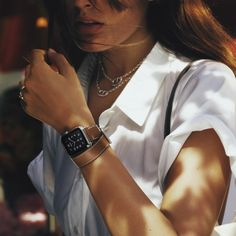The Apple Watch Hermes collaboration - pictures and info | Harper's Bazaar