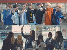 Watch: BTS And GFRIEND Get Students Running For SK Telecom | Soompi
