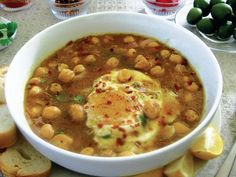 In her new cookbook, The Heart of the Plate, Mollie Katzen shares many recipes for vegetarian soups and stews. None are as beguilingly simple as her version of Tunisian lablabi, a straightforward chickpea soup.
