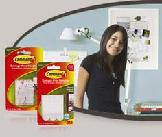 Command™ Poster Strips and Picture Hanging Strips are great for decorating dorms and showcasing projects, art and pictures.