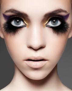 Amazing Bird Makeup Tips and Tutorials - editorial, avant garde, chic, fashion, Bird Makeup, Eye Makeup, Makeup Tips, Beauty Makeup, Hair Beauty, Makeup Inspo, Makeup Ideas, Catwalk Makeup, Makeup Contouring