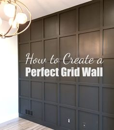 Anyone can create the perfect grid wall.once you know the tips & tricks. Anyone can create the perfect grid wall.once you know the tips & tricks. Check out this detailed DIY tutorial for how to create a beautiful grid wall in your home! Diy Home Decor Bedroom, Easy Home Decor, Cheap Home Decor, Bedroom Ideas, Decor Room, Bedroom Bed, Bedroom Balcony, Master Bedroom Design, Cozy Bedroom