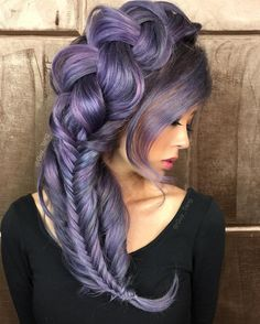 Purple Hair by Guy Tang