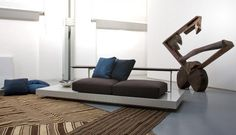 Modern Sofa Design for Saporiti Italia by Mauro Lipparini