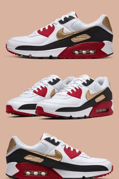 Discover recipes, home ideas, style inspiration and other ideas to try. Men's Shoes, Nike Shoes, Sneakers Nike, Air Max 90, Nike Air Max, Herren Outfit, Everyday Shoes, Sneaker Boots, Tokyo Olympics