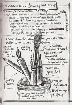 How to start an illustrated journal by daveterry on 43 Things (bigger version)
