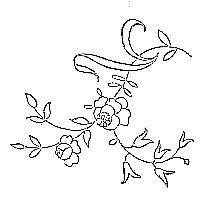 5 nouvelles petites fleurs à mouchoir ou autres lol !!!, Bon week- end à tous