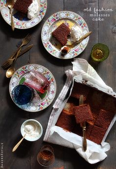 Old Fashion Molasses Cake - Brer Rabbit Molasses is pure, all-natural sweetness anyone can enjoy. brerrabbit.com #brerrabbit #molasses #recipe #cake