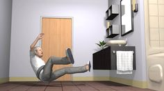 Wearable airbag protects elderly people from falls