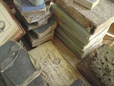 Antique French books by Gmomma