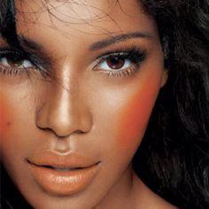 Orange blush