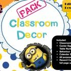 In this Minion Themed Pack you will find: A Bevaviour Chart: a great classroom management tool to give your students immediate feedback for thei...